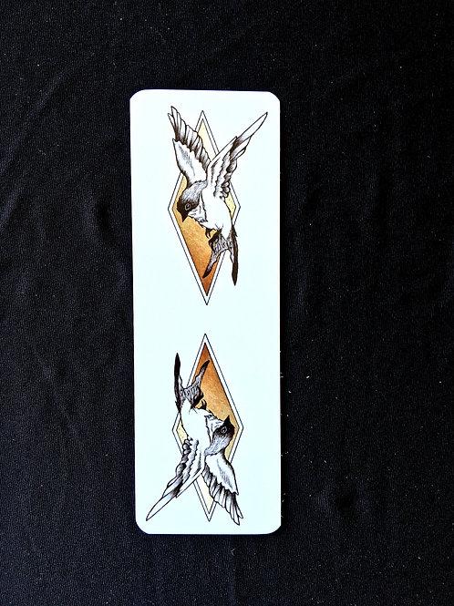 """sparrow"" 2X6 Bookmark"