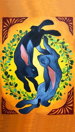 Ying Yang Rabbits by: Katrina Flores