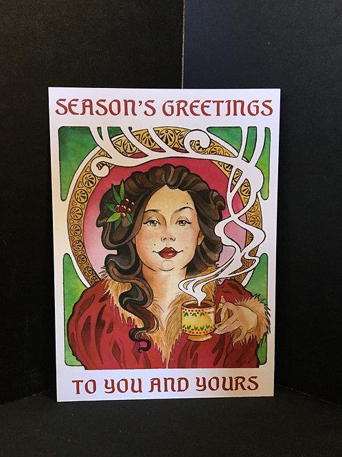 """Season's Greetings"" Art Print"