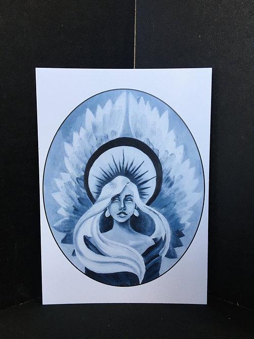 """Angel"" 5x7 Art Print"