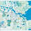 Thumbnail: Urban Nature Amsterdam - POSTER kaart/ map