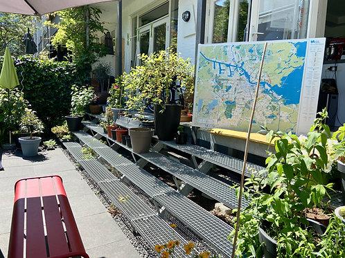 Urban Nature Amsterdam - POSTER kaart/ map