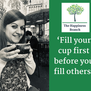 Fill your cup and make it strong