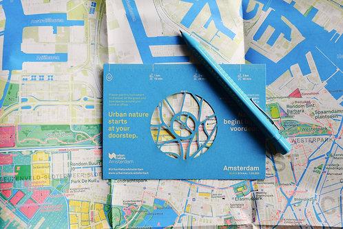 Urban Nature Amsterdam: de kaart/ the map