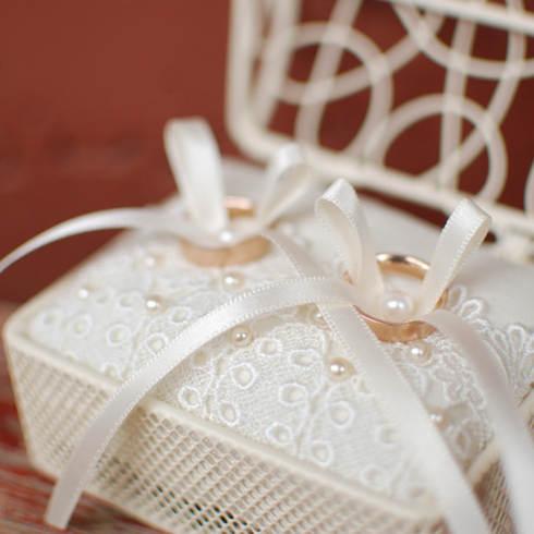 結婚式写真リングピロー
