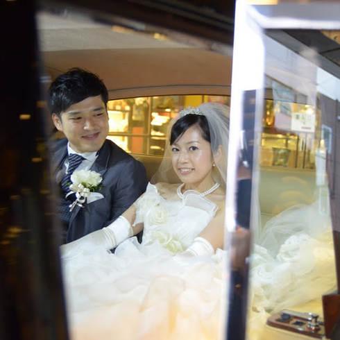 結婚式の写真おくるまにて