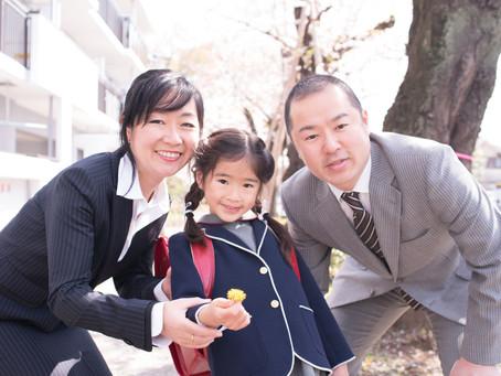 桜・入学式・ファミリーフォトその2