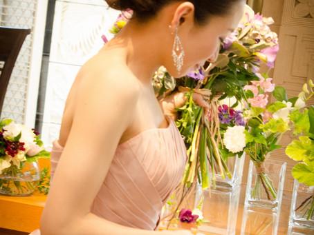 動きのある花嫁さまが撮りたい