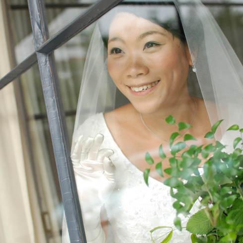 結婚式写真東京目黒カトリック教会