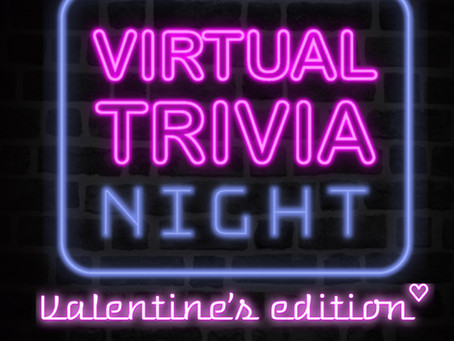 BMCAA Valentine-Themed Virtual Team Trivia Night
