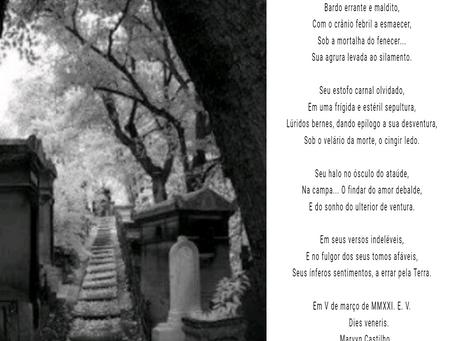 Poeta Maldito #poesiamaldita #circulosoturnos #literaturamaldita
