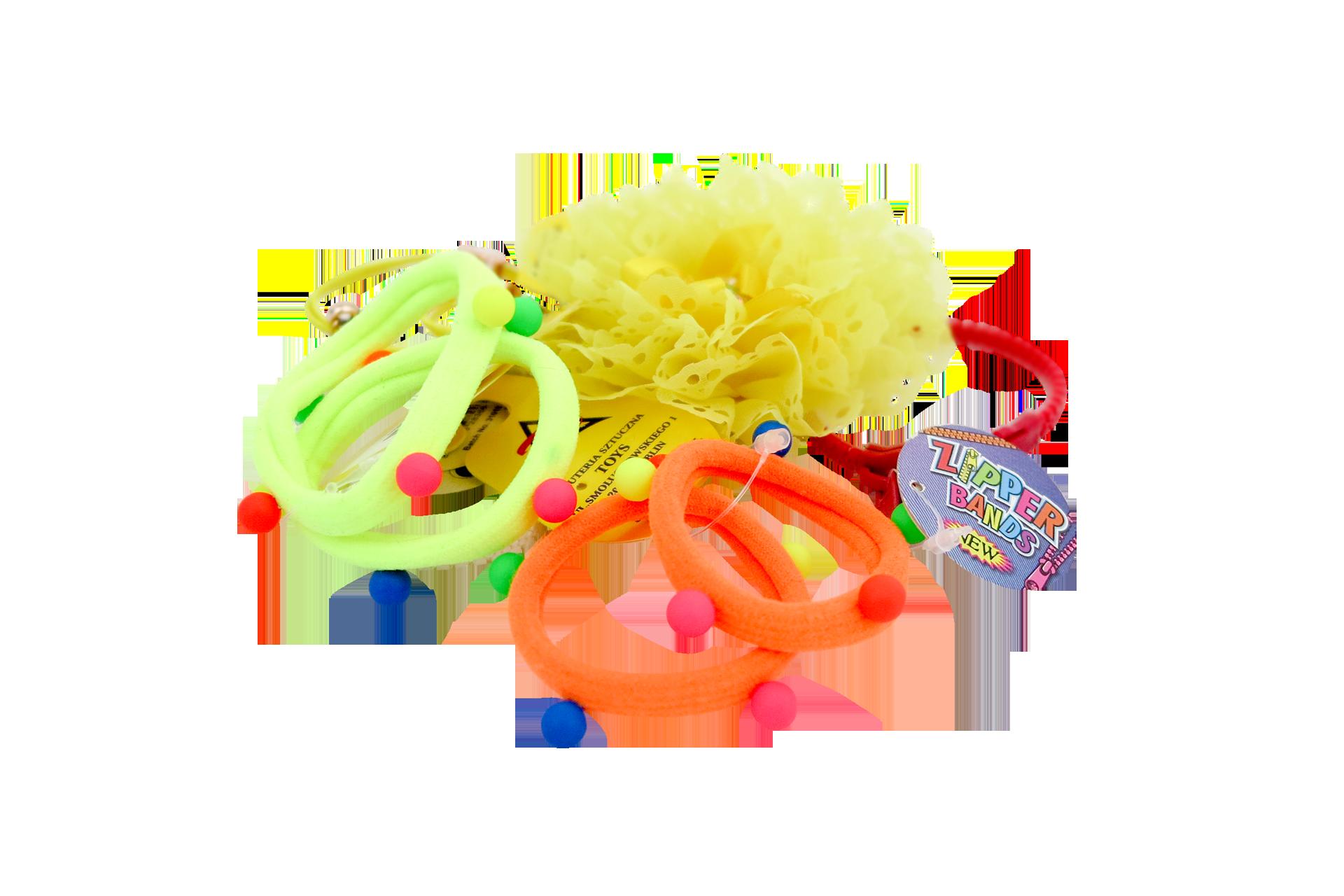 Kolorowe gumki i bransoletki