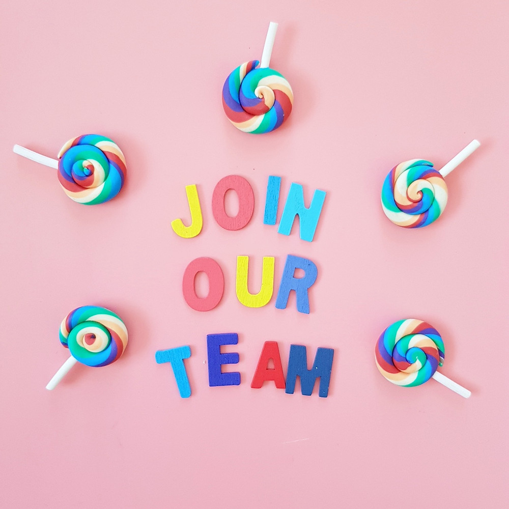 join our team candy