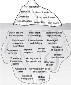Veterinary inventory management iceberg