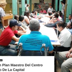 Elaboran Plan Maestro del Centro Histórico de la capital