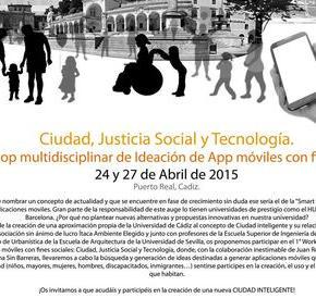 Ciudad, Justicia Social y Tecnología. Ideación de App móviles con fines sociales