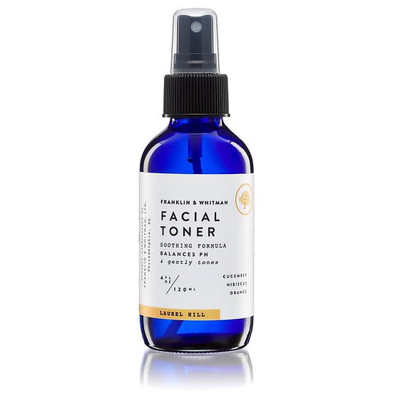 Facial Toner : by Franklin & Whitman