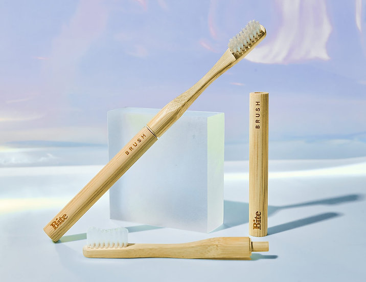 Bamboo Toothbrush : by Bite