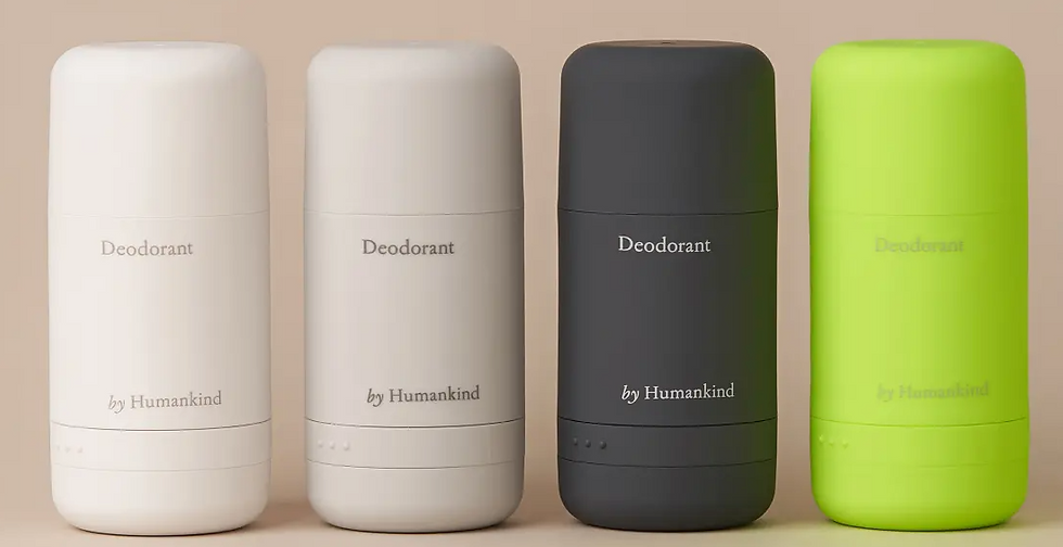 Refillable Deodorant : by Humankind