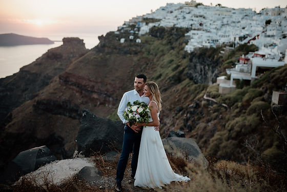 Bespoke Weddings Santorini