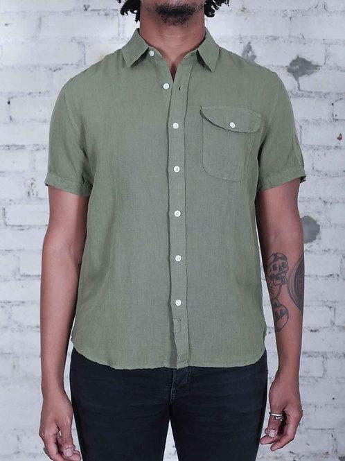 Bridge & Burn Marten Shirt - olive