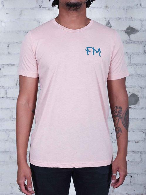 Colofkngrado tee - FM Wavy - pink - unisex