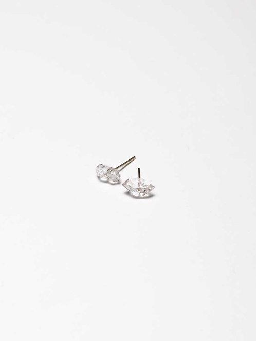 Decent Things - Herkimer Diamond Studs