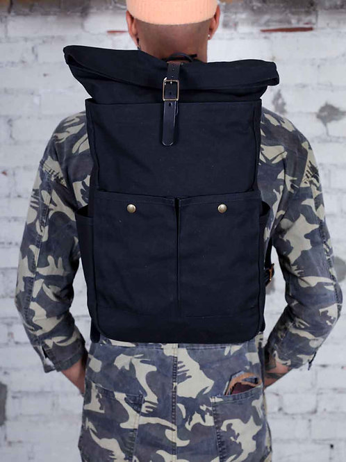 Winter Session Roll Top Backpack