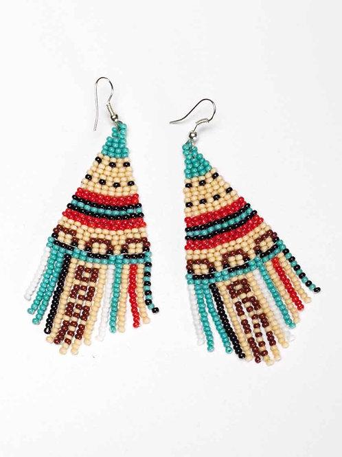 Nativo Beaded Earrings -Isabella
