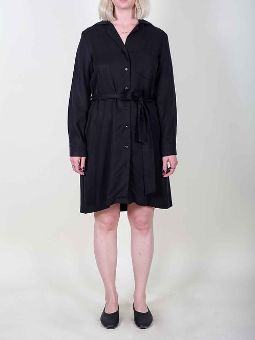 North Of West Ruby Shirt Dress - black