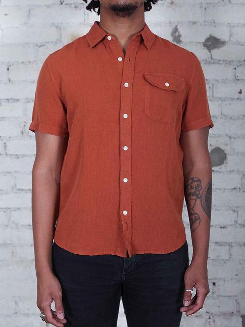 Bridge & Burn Marten Shirt - sienna