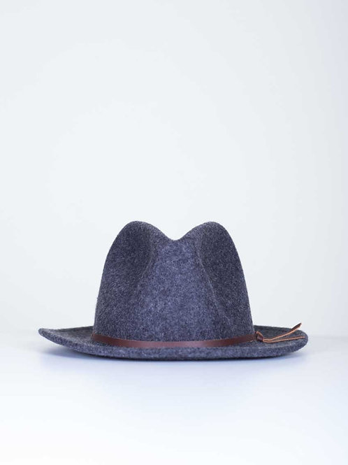Yellow 108 Luke fedora - EJ grey