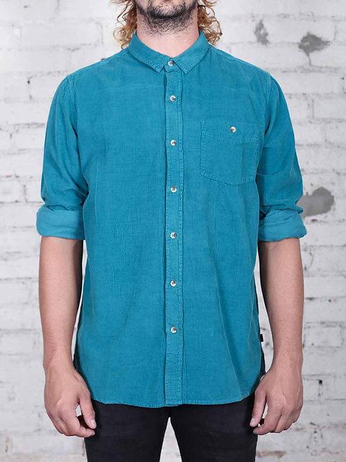 Rollas Cord Shirt - aqua