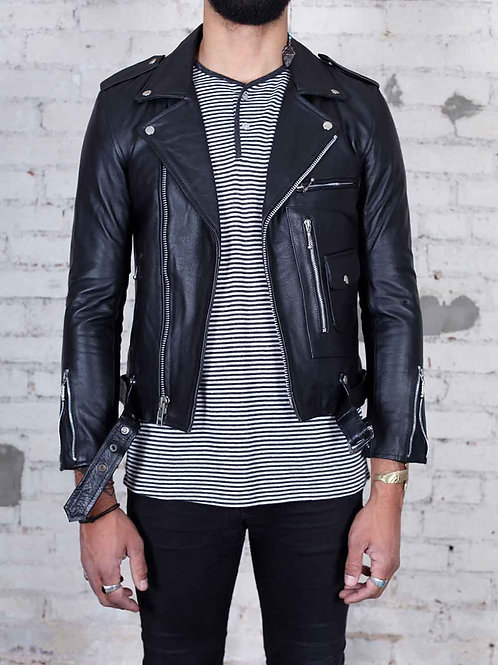 Straight to Hell Logan Leather Jacket