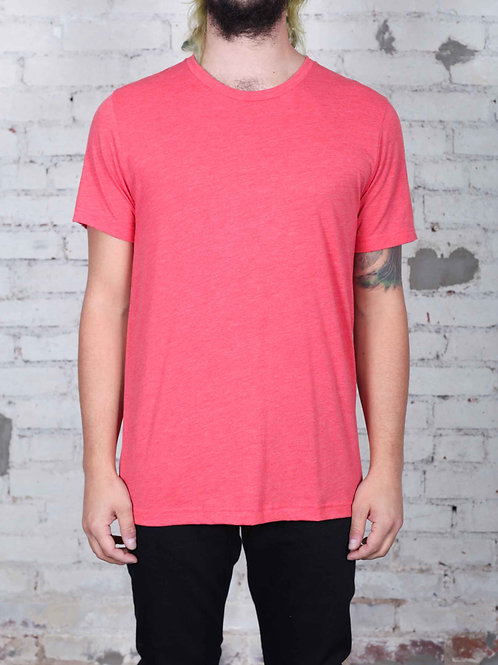 Unisex Triblend Tee - red