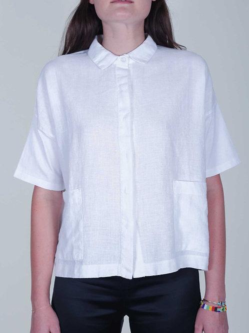 Beaumont Organic Naomi top - white