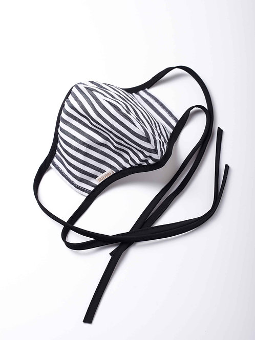 Lightweight Mask - railroad stripe