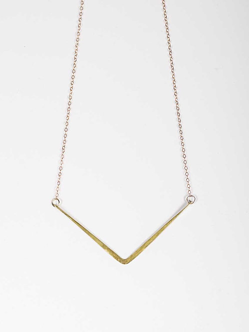 Jackie Barr - Chevron Necklace