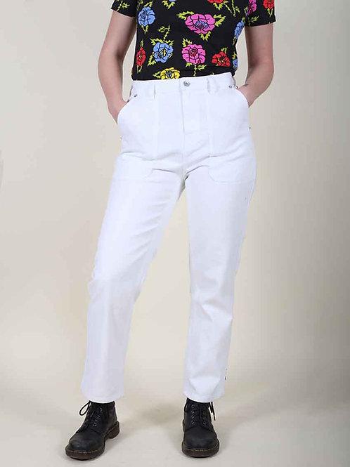 Brixton Carpenter Pant - white