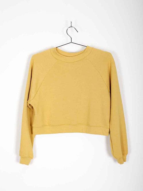 Raglan pullover - mustard