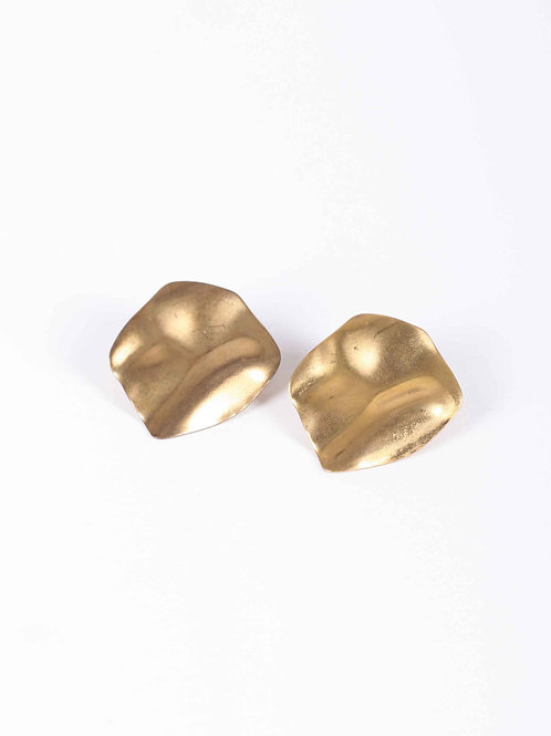 Peter & June Sway studs - brass