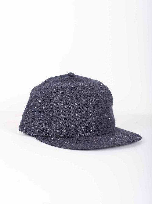 Yellow 108 Parker cap - grey wool