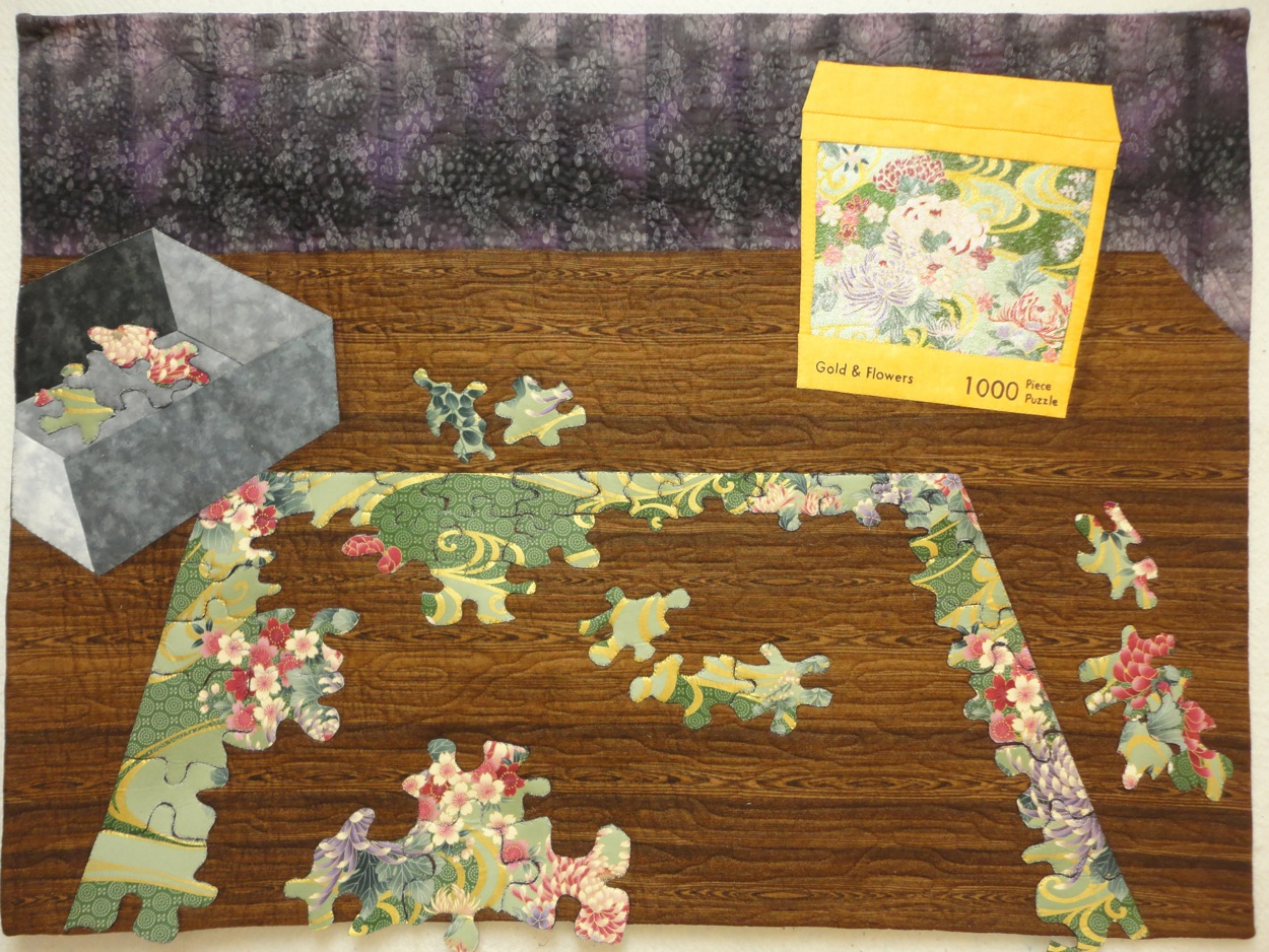 It's a Puzzle by Becky Grover