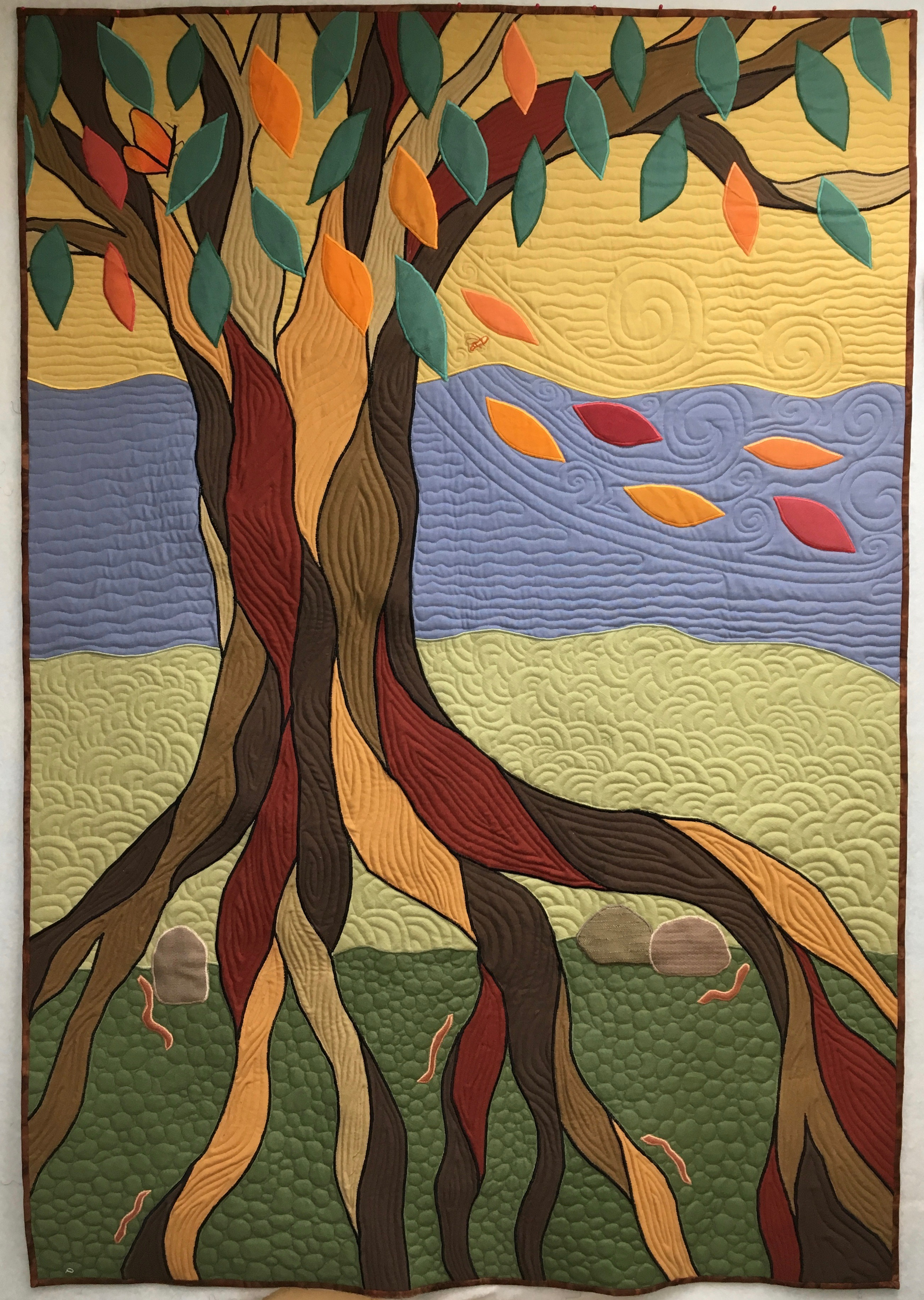 Quilted Tree