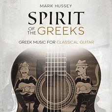 Album cover - Greek music for classical