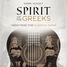 Album cover - Greek music for classical