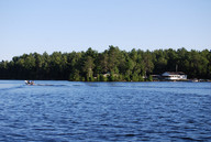 View of the camp off French River