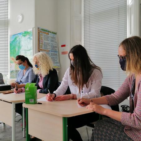 Jury VII Polonijnego Przeglądu Recytatorskiego Online.