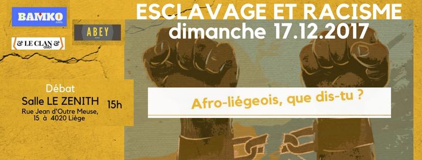 FACE A L'ESCLAVAGE ET AU RACISME (1)