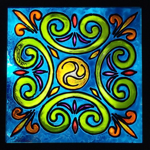 "Celtic Filigree   8""x8"""